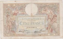 100FR LUC OLIVIER MERSON 20/10/1938 - 100 F 1908-1939 ''Luc Olivier Merson''