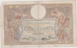 100FR LUC OLIVIER MERSON 6/04/1939 - 100 F 1908-1939 ''Luc Olivier Merson''
