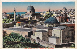 JERUSALEM - TEMPLE OF SOLOMON - Palestine