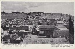 JERUSALEM AND MOUNT OF OLIVES - Palestine
