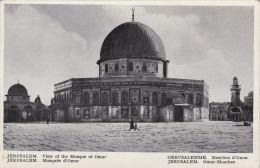 JERUSALEM - MOSQUEE D'OMAR - Palestine