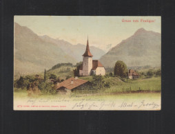 AK Gruß Von Frutigen 1902 - BE Bern
