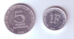 Burundi 2 Coins Lot - Burundi