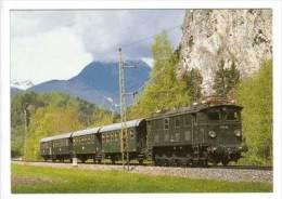 Elektro Güterzuglokomotive 1180.04 Der Österreichischen Bundesbahn , Früher BBÖ 1080.104 DRB E 88 104 - Eisenbahnen