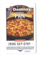 Carte Magnetique De Chambre  Hôtel  . Key Pass. Passe.  (USA ) Pizza. Domino's Handmade Pan. - Hotelkarten