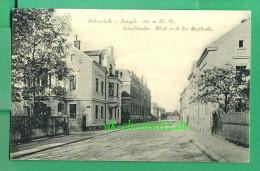 Alte Sachsen AK 08309 Eibenstock Im Erzgebirge Um 1910 !!!  Schulstraße , Blick Nach Der Bielbuche - Eibenstock