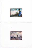 POLYNESIE FRANCAISE  Epreuve D'artiste P.A  N° 40**- 41**- 43**-44** - Non Dentelés, épreuves & Variétés