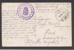 7794-TABORI POSTA HIVATAL-58-1916 - Covers & Documents