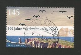 BRD 2010  Mi.Nr. 2793 , 100 Jahre Vogelwarte Helgoland - Selbstkl. - Gestempelt / Used / (o) - BRD