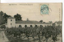 HAUT-SAUTERNES  -  CHATEAU LAMOTHE ( ESPAGNET ) - France