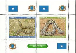 Fantasy Label Snakes Snake 4 Small  Sheets - Fantasy Labels