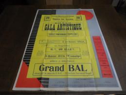 Marche-lez-Ecaussines, Gala Artistique. - Affiches