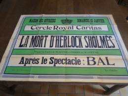 Marche-lez-Ecaussines, Cercle Royal Caritas. - Affiches