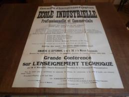 Ecaussines D' Enghien, école Industrielle. - Affiches