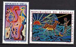 Sénégal P.A. N° 77 / 78  XX  Tapisseries, Les 2 Valeurs Sans Charnière, TB - Senegal (1960-...)