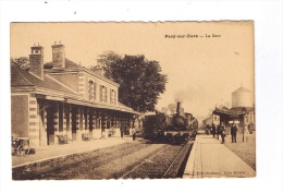 PACY-sur-EURE  -  La Gare  -  Trains - Pacy-sur-Eure