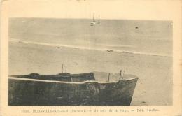 50 BLAINVILLE-SUR-MER UN COIN DE LA PLAGE - 11462 - Blainville Sur Mer