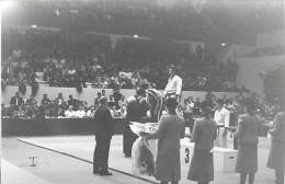 Ref A796- Arts Martiaux -judo -photo Souple Non Située- Rencontre Internationale Ou Nationale ??- Photo Bon Etat  - - Martiaux