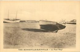 50 GONNEVILLE BLAINVILLE LE PONT NEUF - BATEAUX - Blainville Sur Mer