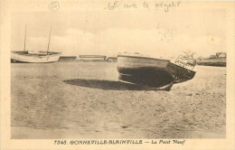 50 GONNEVILLE BLAINVILLE LE PONT NEUF - BATEAU ROBERT - Blainville Sur Mer