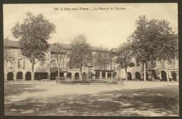 L´ISLE Sur TARN Rare La Place Et Les Couverts (Dejean & Vaissié) Tarn (81) - Lisle Sur Tarn