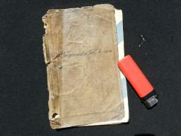 LIVRET MILITAIRE 59�  REGIMENT INFANTERIE 1898