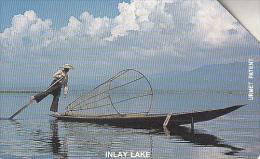 MYANMAR - Inlay Lake(100 Units), Used - Myanmar