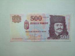 % Banknote - Hungary - 500 HUF - 2010 UNC - EE - Ungarn
