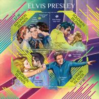 slm13504a Solomon Is. 2013 Elvis Presley s/s