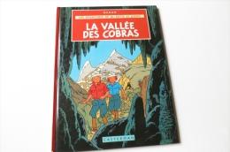 JO ZETTE ET JOCKO La Vallée Des Cobras Hergé Casterman Réédition 1982 - Jo, Zette & Jocko