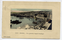 Alg�rie--ALGER--1910--Vue g�n�rale et Sport Nautique  �d Eur�ka---carte coloris�e