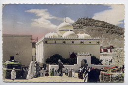 Algérie--BOU-SAADA--1955--El Hamel ,ville Sainte (très Animée,autocar) Cpsm 14 X 9 N° 17 éd Jomone - Autres Villes