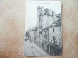 LUXEUIL LES BAINS - L'Hôtel De Ville (Carte Rare Sous Cet Angle) - Luxeuil Les Bains