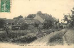 Ref  A 744 -  Essonne - La Ronce Par Marcoussis - Sur Le Petit Chemin -  Carte Bon Etat - - France
