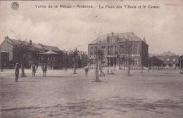 Andenne 36: La Place Des Tilleuls Et Le Casino - Andenne