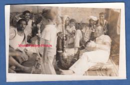 Carte Photo - LA MECQUE ( Saudi Arabi ) - Français Dans Une Famille Arabe - 1972 - Arabie Saoudite