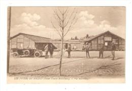 CPA Militaria 51 - Chaussé / Marne :Foyers Du Soldat : Vue Extérieure : Militaires - Bâtiments - Voiture - Guerre 1914-18