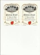 2 Etiquettes Vin -1975- 1ère Côte De Blaye - Quelques Petites Taches Voir Scan              Lot De 2-   2 Euros - Bordeaux