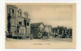 CP , 62 , BERCK-PLAGE , Les Villas - Berck