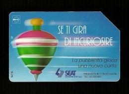 323 Golden - Trottola Se Ti Gira Di Incuriosire Da 5.000 31_12_95 Mantegazza Sip - Italia