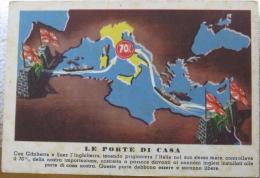 Le Ragioni Della Guerra, Italia, Italy, Gibraltar, Suez, Political, War Propaganda, Mediterranean, Great Britain - Patriotiques