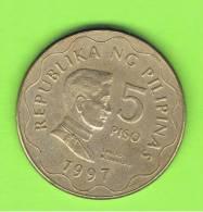 FILIPINAS - PHILIPPINES -  5 Piso  1997   KM272 - Filipinas