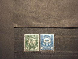 IRLANDA - 1933 ANNO SANTO 2 Valori - NUOVI(+) - 1922-37 Stato Libero D'Irlanda