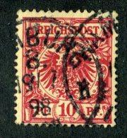 10163  Reich 1897 ~ Michel #47da  ( Cat.€2.50 ) - Offers Welcome. - Usados