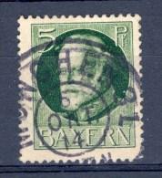 1914 / 20   N° 95 BAVIERE OBLITÉRÉ  DOS CHARNIÈRES - Beieren