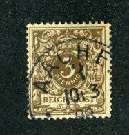 10215  Reich 1891 ~ Michel #45   ( Cat.€3. ) - Offers Welcome. - Gebraucht