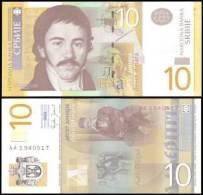 Serbia #46a, 10 Dinara, 2006, UNC - Serbien