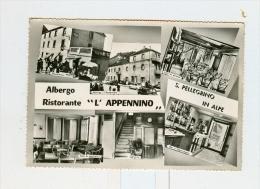 """S.PELLEGRINO IN ALPE,Albergo Ristorante """"L'APPENNINO"""",vedute-1958 - Lucca"""