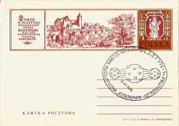 "Poland Pologne, Space Stamp Exhibition ""Astronomy - Astronautics"" On N. Copernic Copernicus Stationery. Olsz - Astronomùia"
