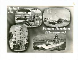 Saluti Da PUNTA MARINA,vedute Con Benzina BP-1962 - Ravenna